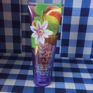 Bath body works brown sugar & fig ultra Shea cream